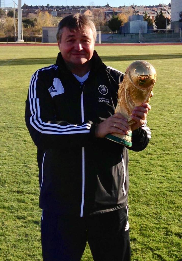 Florin Nedelcu și cel mai râvnit trofeu din fotbalul mondial