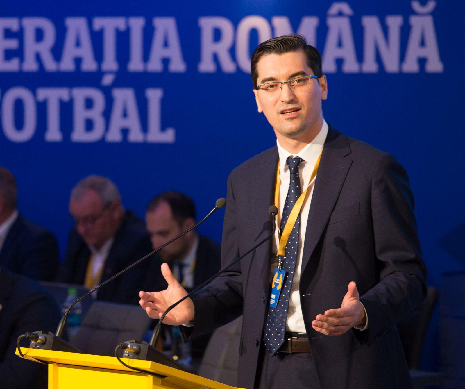 Razvan Burleanu l-a indepartat pe Florin Nedelcu din anturajul federal
