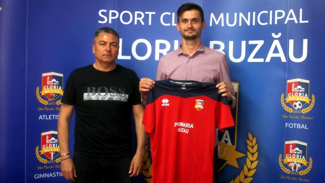 Marius Ioniță, alături de Ilie Stan