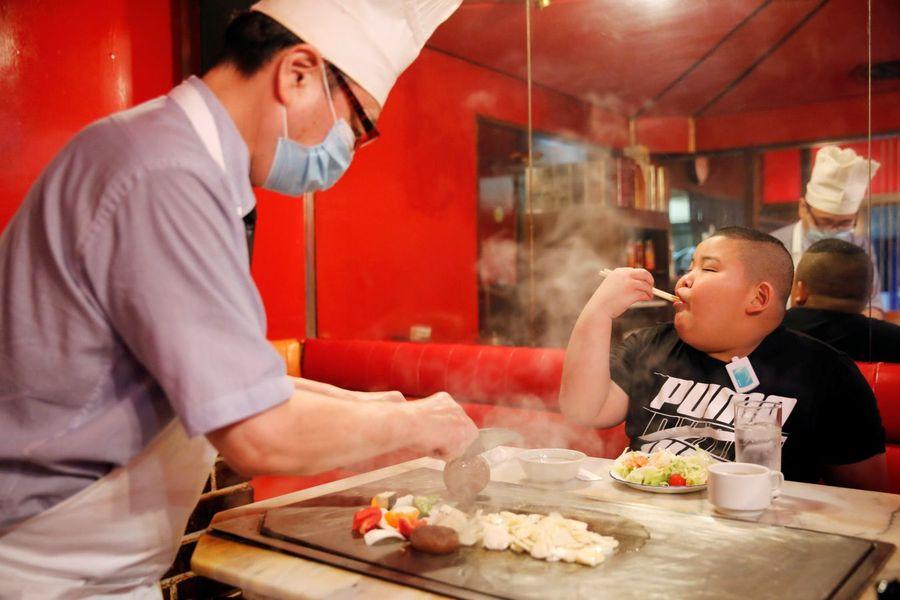 Kyuta Kumagai mănâncă zilnic 4000 de calorii