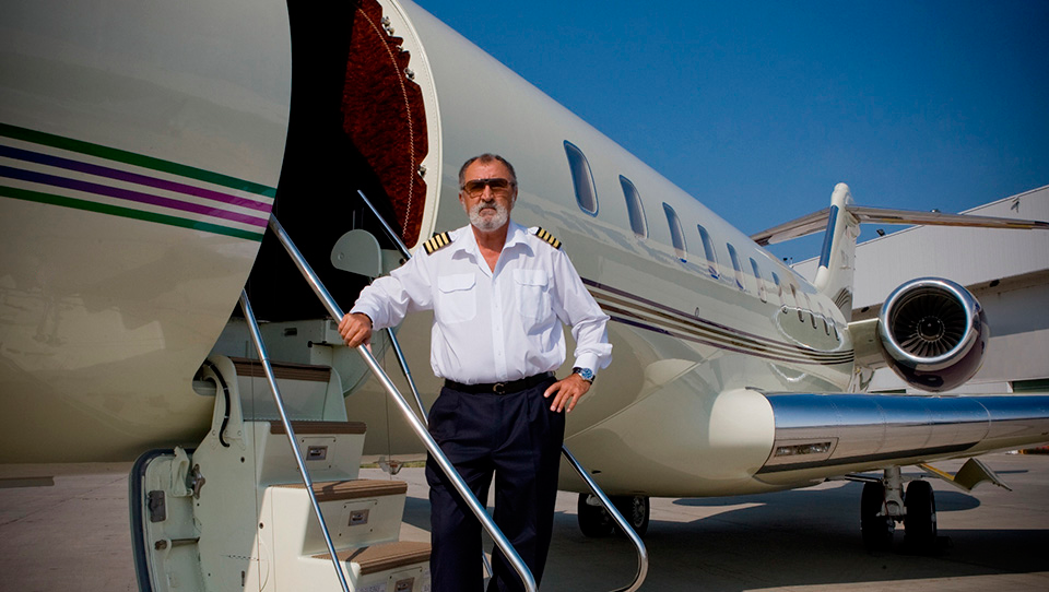 Omul de afaceri nu și-a ascuns niciodată pasiunea pentru avioane