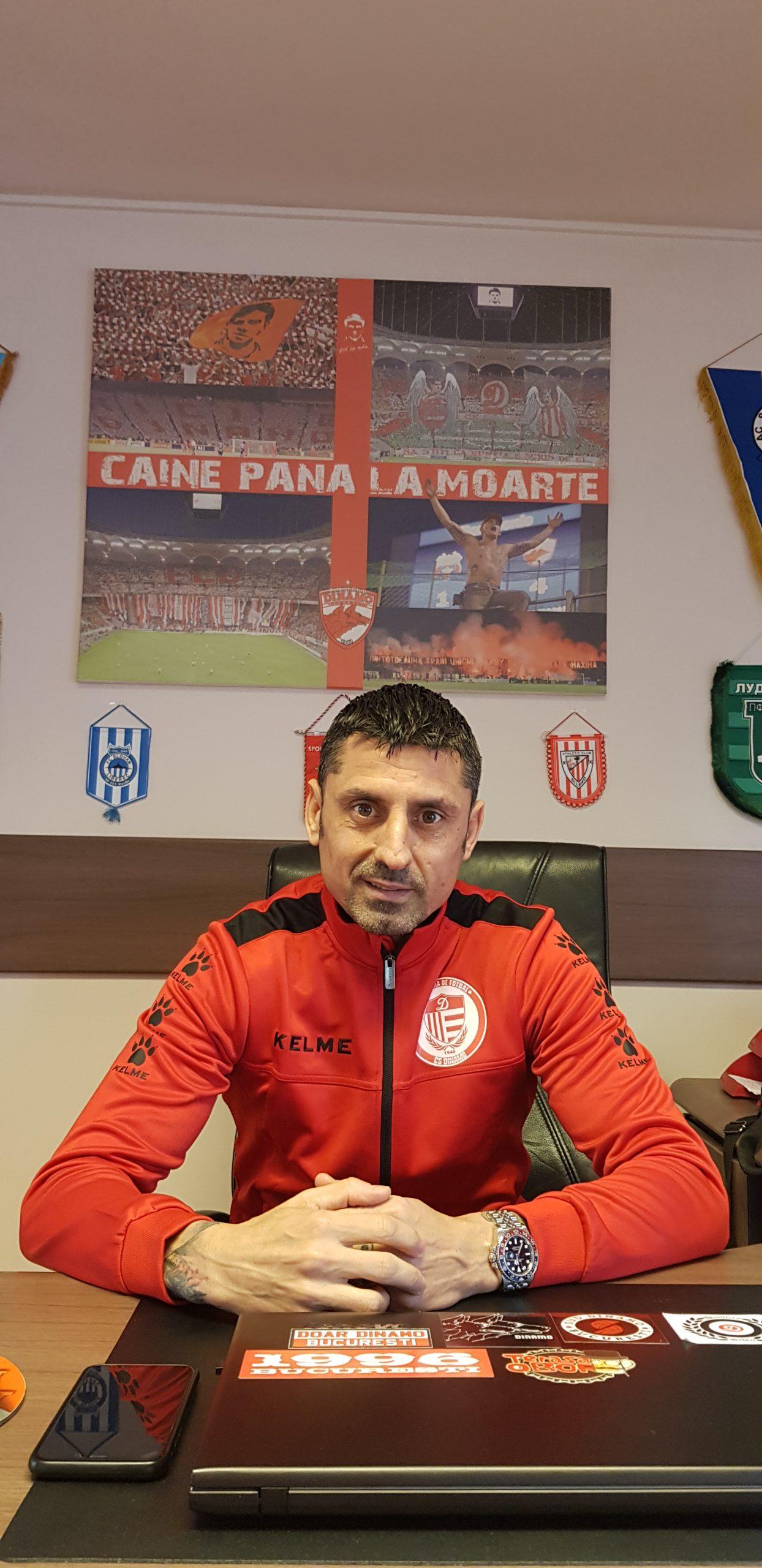Ionel Dănciulescu regretă absența fanilor de pe stadion
