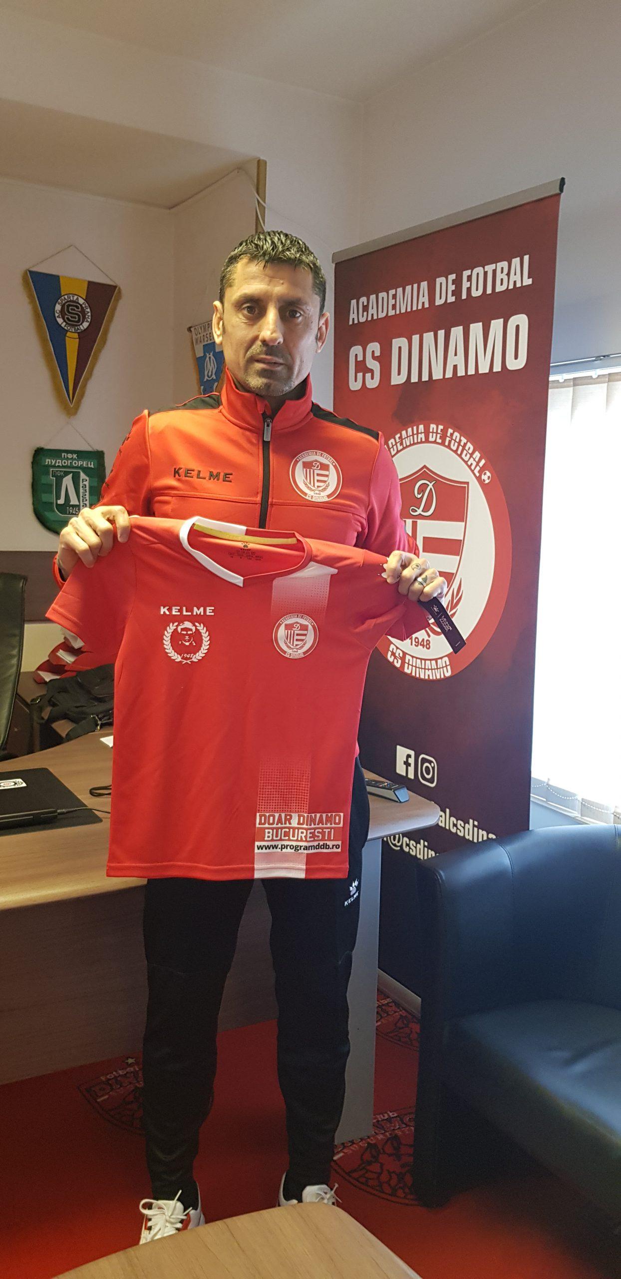 Ionel Dănciulescu ocupă o funcție administrativă la CS Dinamo