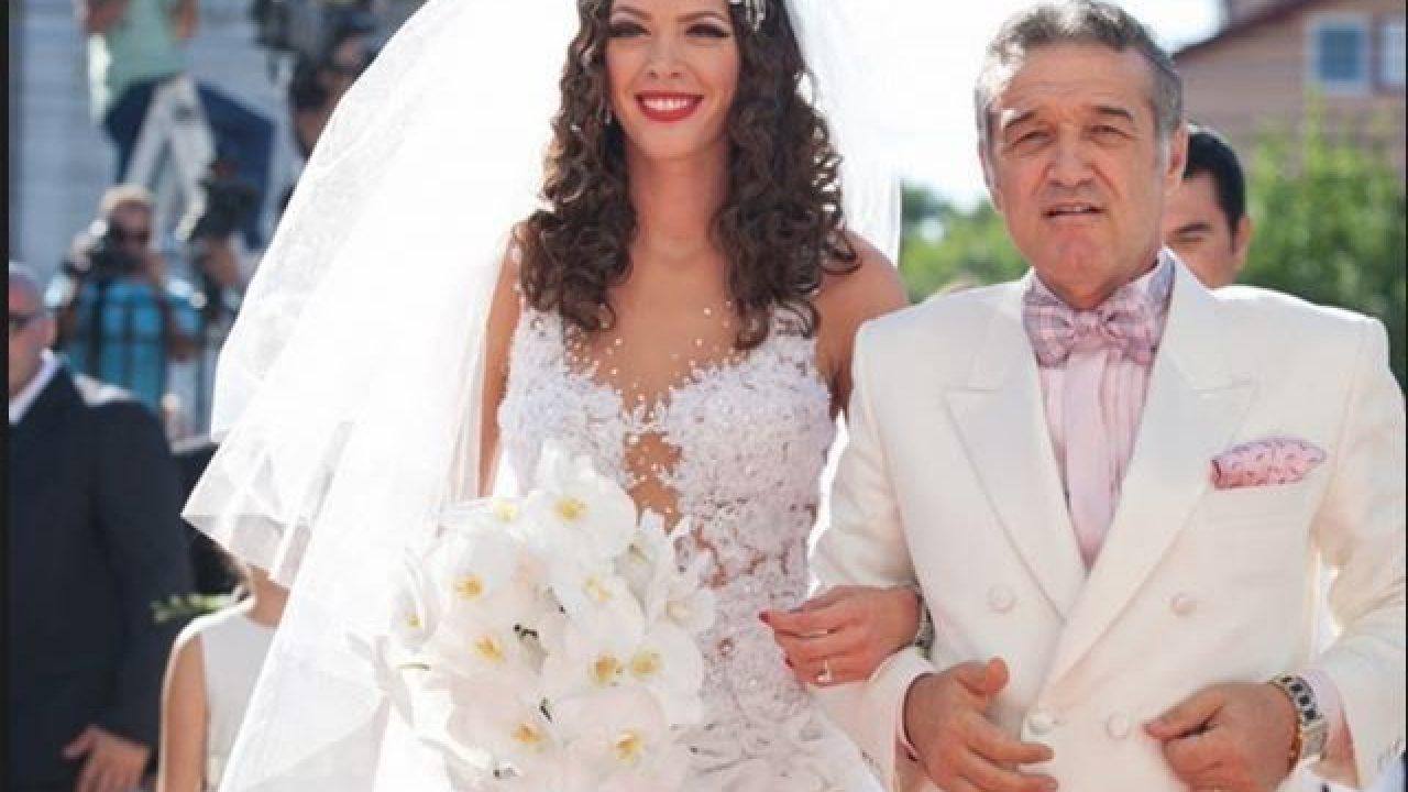 Gigi Becali, naș la nunta dintre Cristi Borcea și Alina Vidican