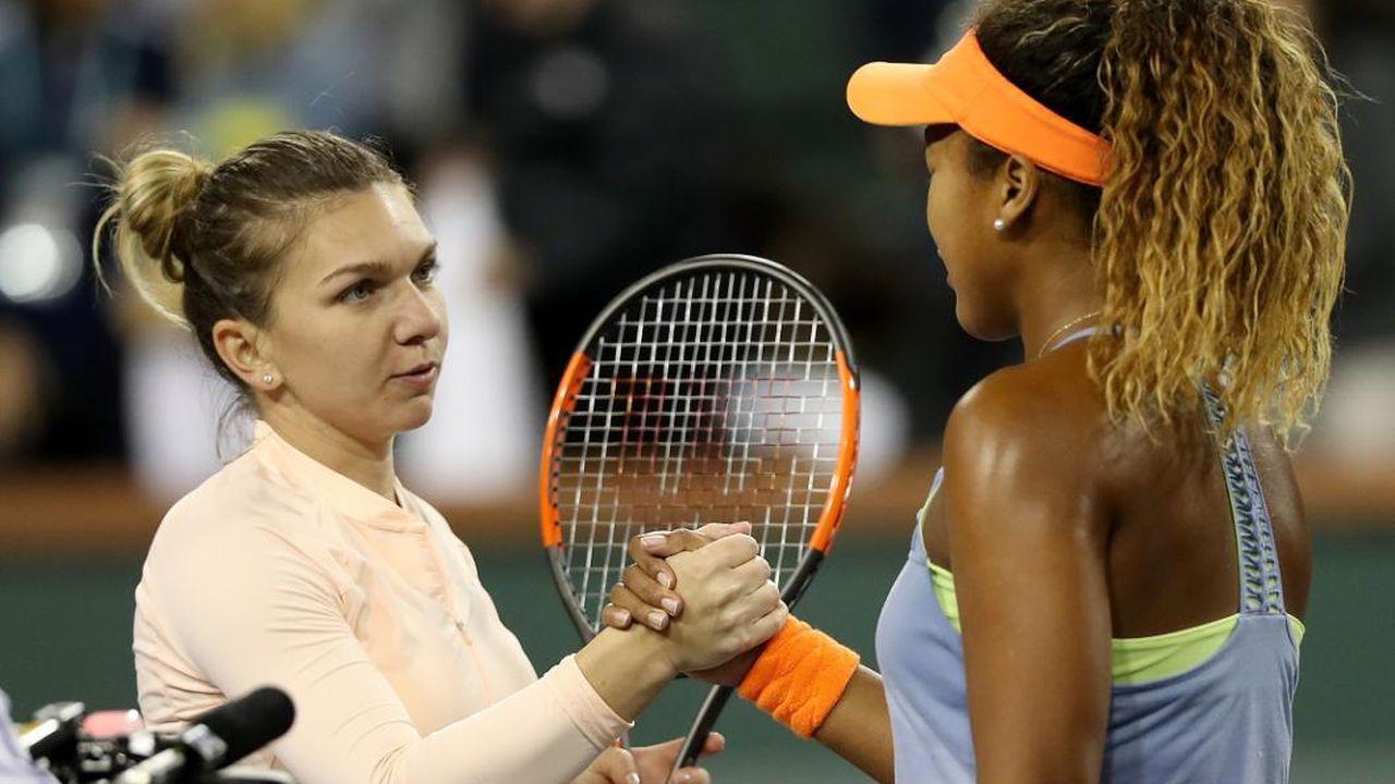 Simona Halep, depășita de Naomi Osaka în clasamentul WTA