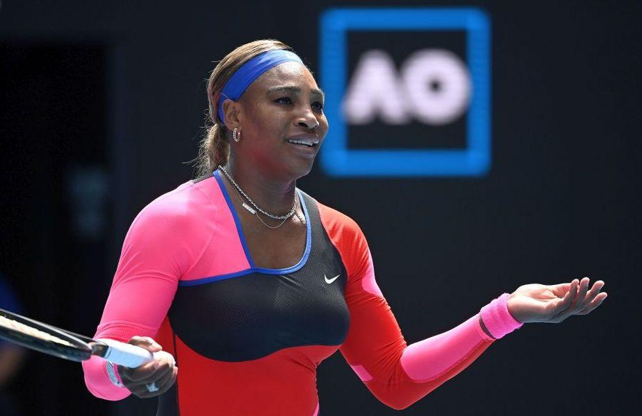 Serena Williams a ratat șansa de a juca cu trofeul de la Antipozi
