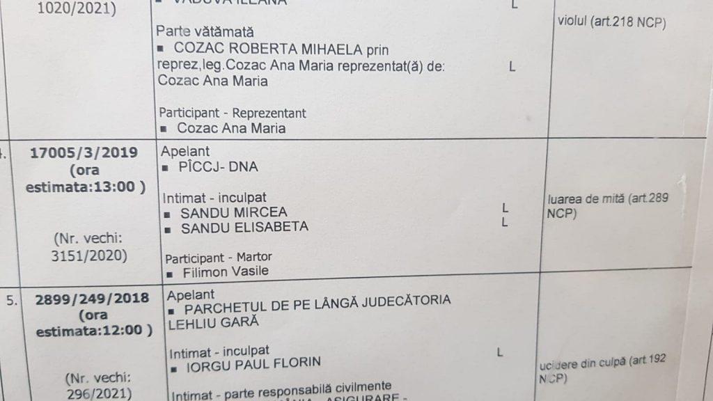 """EXCLUSIV. Mircea Sandu, din nou în fața Instanței! DNA nu se lasă și îl """"convoacă"""" pe fostul șef de la FRF la Curtea de Apel"""