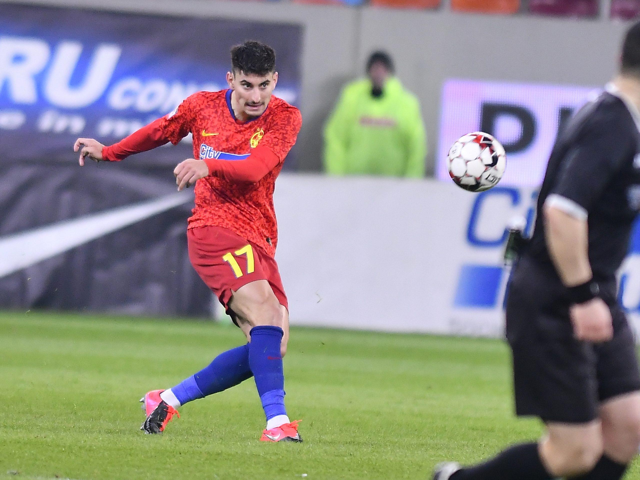 Iulian Cristea a fost unul dintre cei mai importanți jucători de la FCSB în acest sezon
