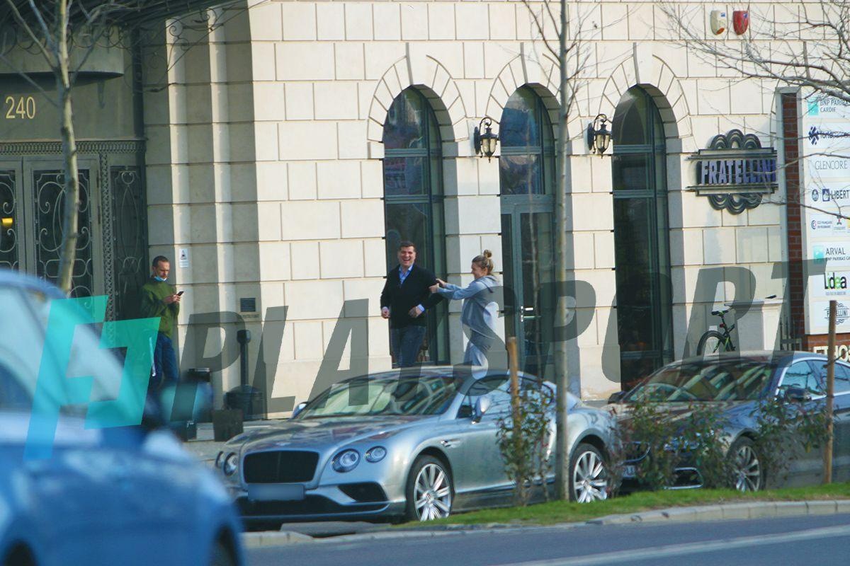 Simona Halep si iubitul sau, Toni Iuruc, se joaca in vazul tuturor