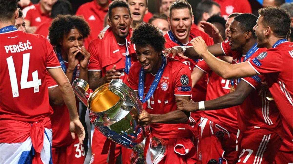 Kingsley Coman, omul meciului în finala PSG - Bayern de anul trecut