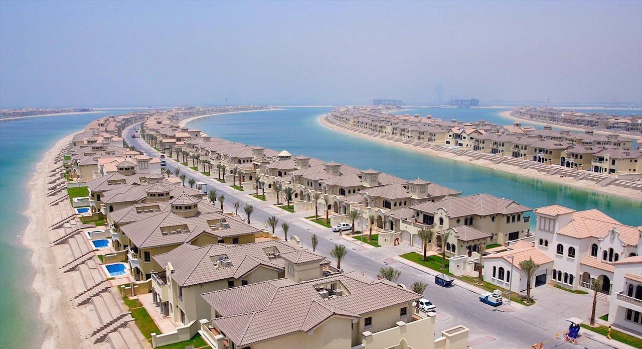 Palm Jumeirah, cartierul rezidențial de lux din Dubai unde Rădoi și Olăroiu sunt vecini