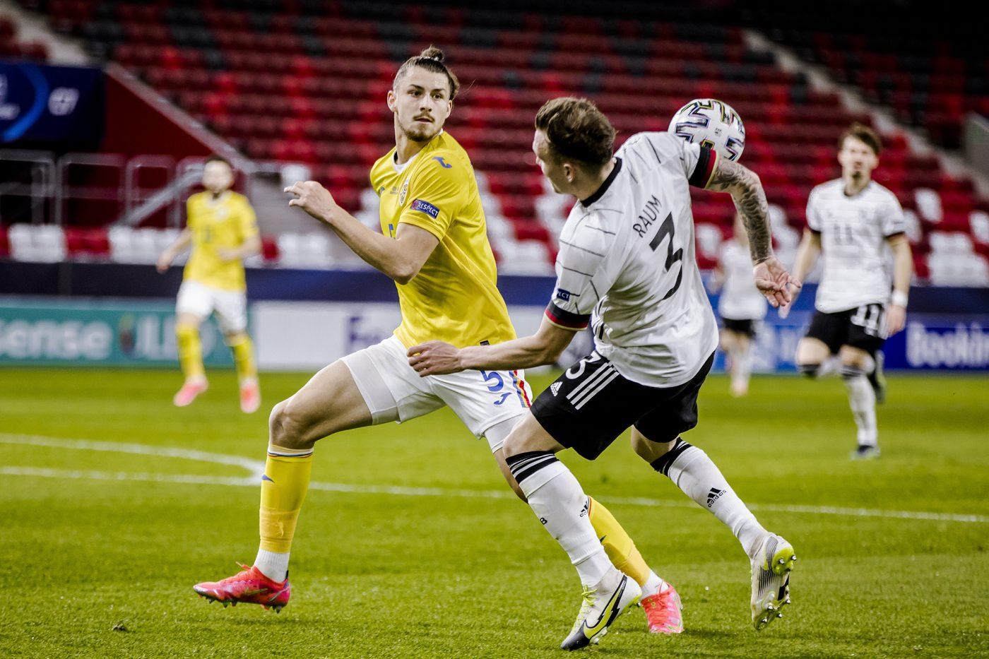 Drăgușin a evoluat în duelul Germania U21 0-0 România U21, de la Euro