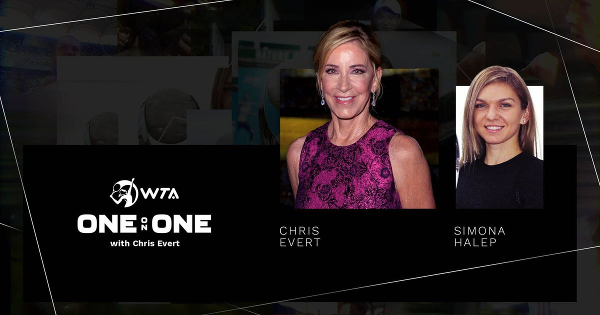 Chris Evert a avut-o ca invitată pe Simona Halep în episodul 2 din emisiunea One-on-One