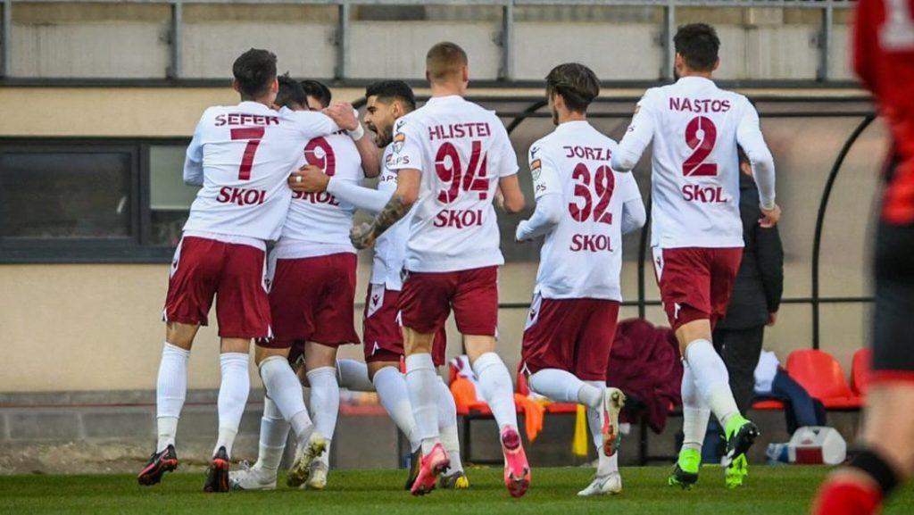 Rapid este noul lider din play-off-ul Ligii 2