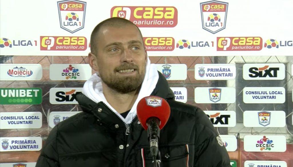 FOTO. Scene tandre cu Gabi Tamaș și Râmniceanu după FC Voluntari-Viitorul Constanța 1-0: