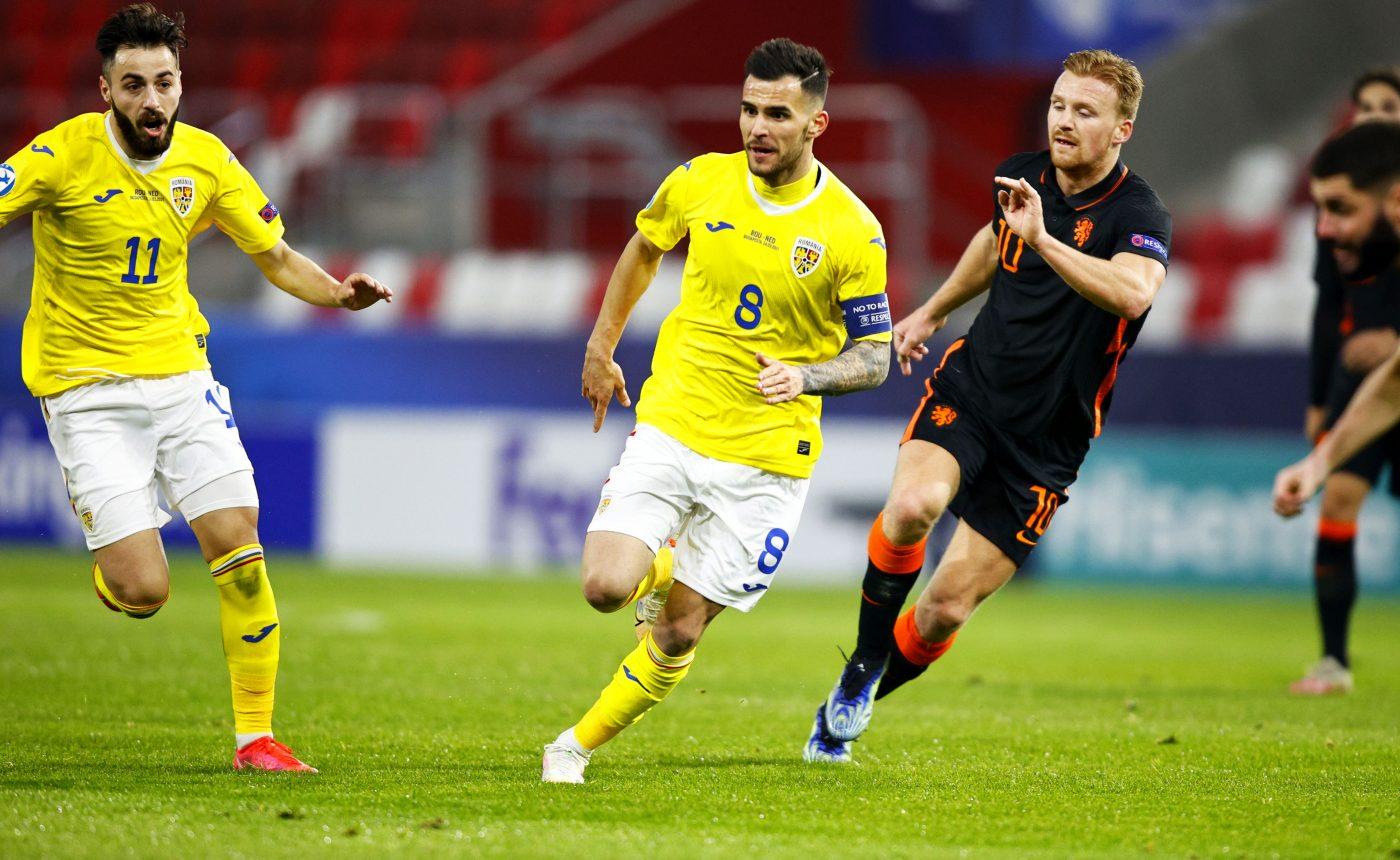 """Vorbeste """"domnul căpitan"""" al nationalei U21, Marius Marin"""