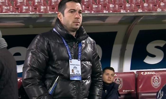 Valeriu Bordeanu, unul dintre oamenii din staff-ul lui Dan Petrescu, depune memoriu pentru a-si recupera banii de la CFR Cluj