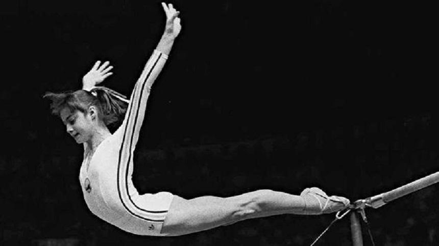 Nadia Comăneci, prima gimnastă care a obținut nota 10 în istoria acestui sport