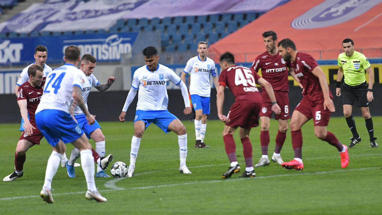 Alex Păun, modest după un meci perfect împotriva Craiovei.