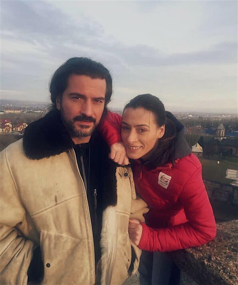 Cătălina Ponor, alături de alesul inimii sale, Bogdan Jianu