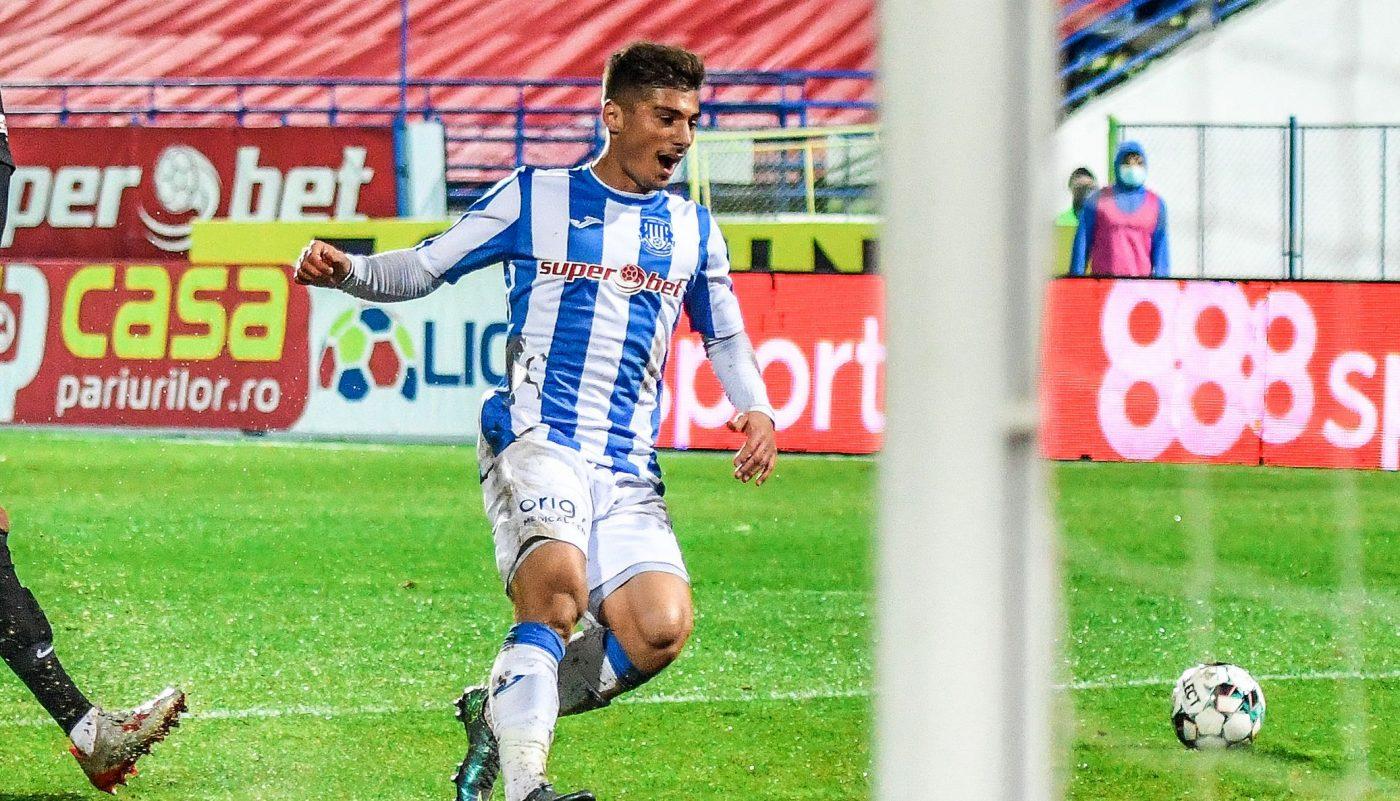 Andreias Calcan a impresionat la Poli Iași, deși echipa sa a terminat pe ultimul loc în Liga 1