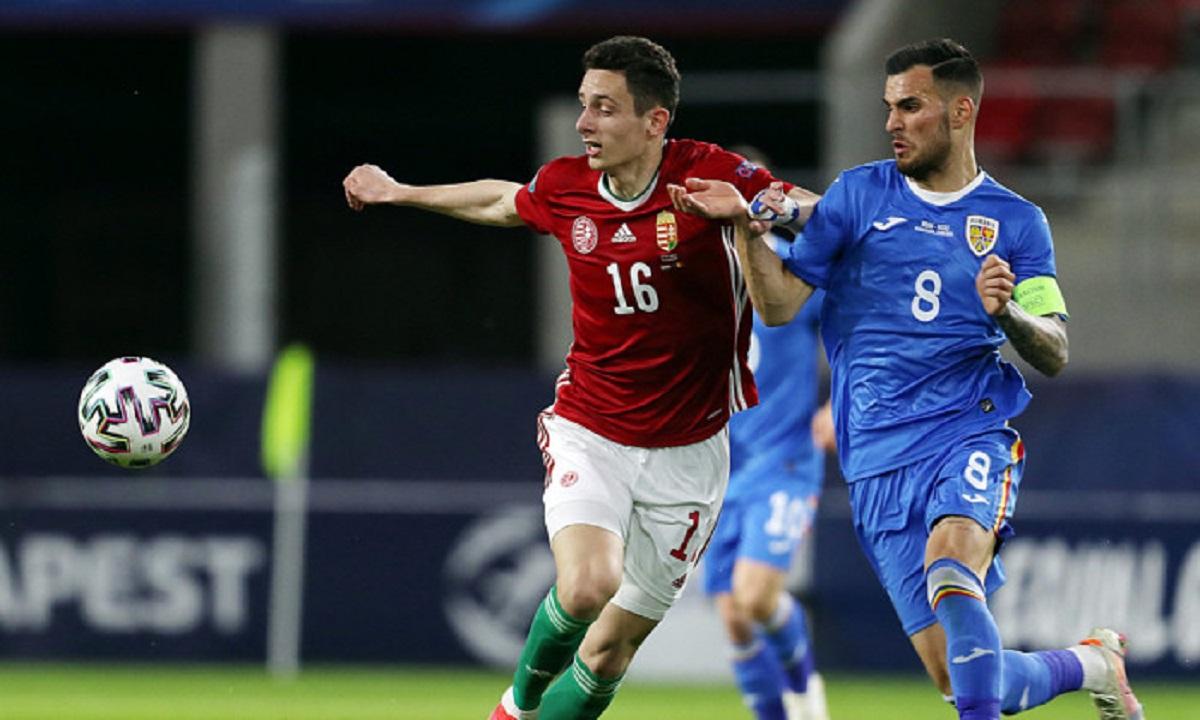 Marius Marin a fost căpitanul naționalei U21 a României la Campionatul European din Ungaria și Slovenia
