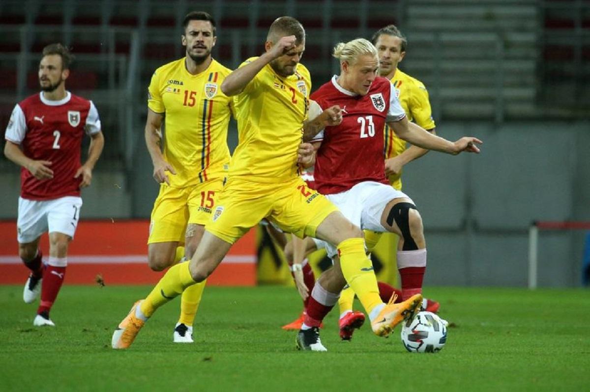 Crețu a făcut un meci foarte bun in meciul din deplasare cu Austria