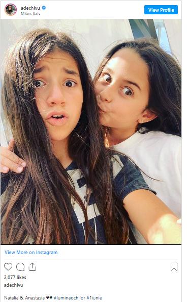 Fotografia cu cele două a strâns foarte multe aprecieri pe Instagram