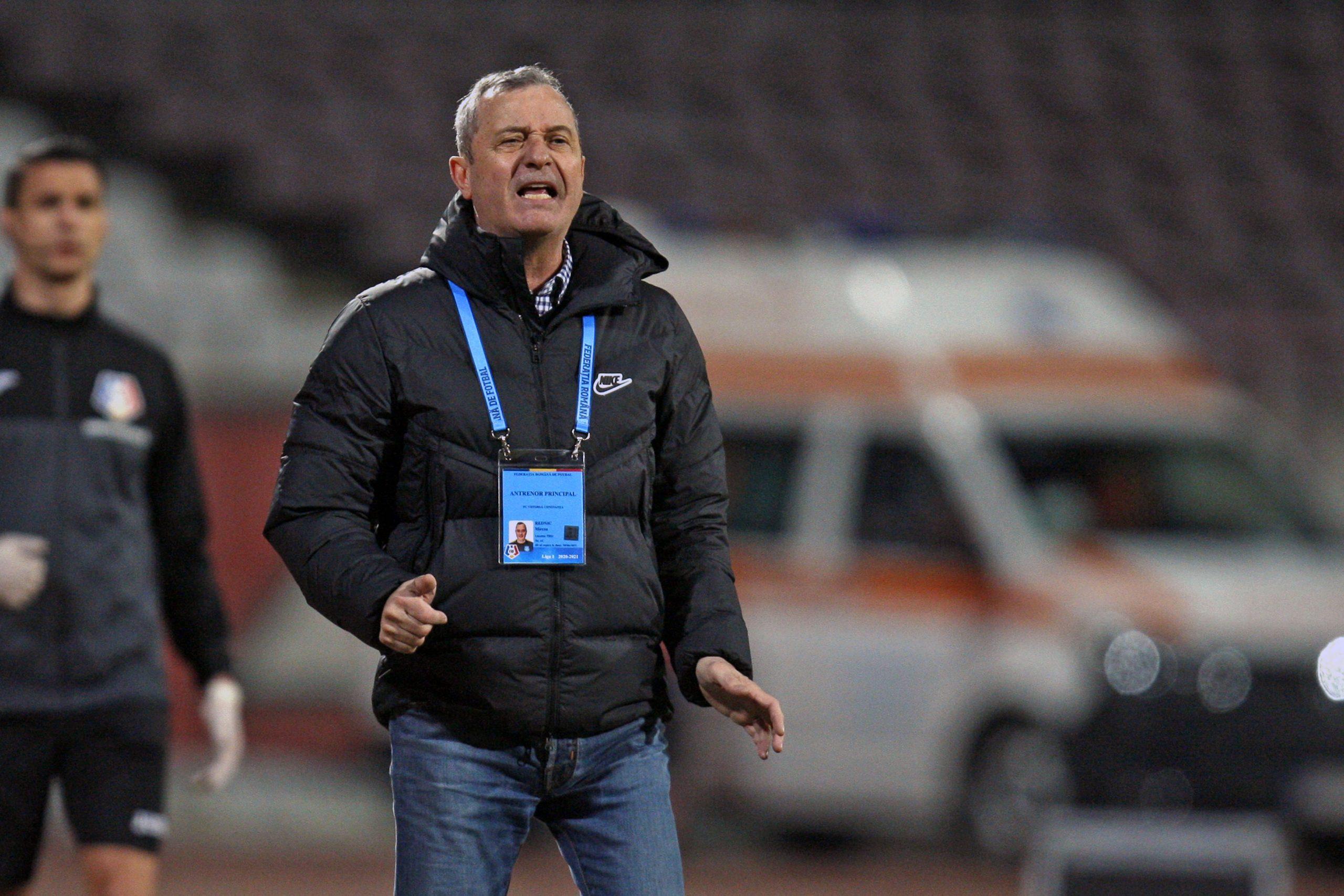 17 meciuri a stat Mircea Rednic pe banca Viitorului Constanța