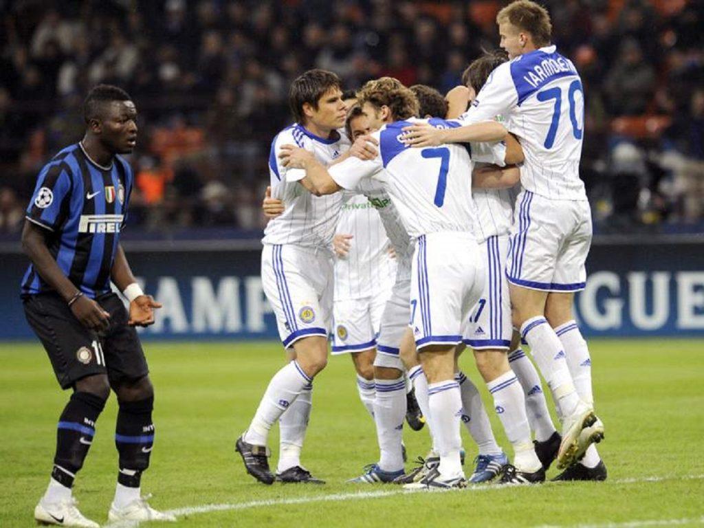 Dinamo Kiev, echipa antrenată de Mircea Lucescu