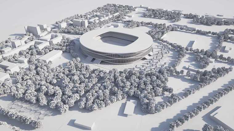 Un stadion cu 30.000 de locuri se construieşte în România