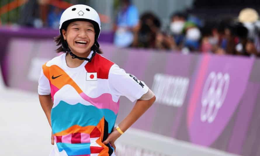 Momiji Nishiya, prima sportivă medaliată cu aur în proba de skateboarding de la Jocurile Olimpice