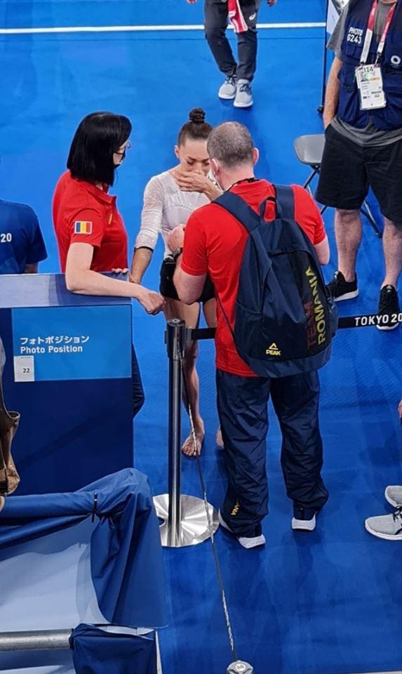 Larisa Iordache a părăsit sala de concurs în lacrimi