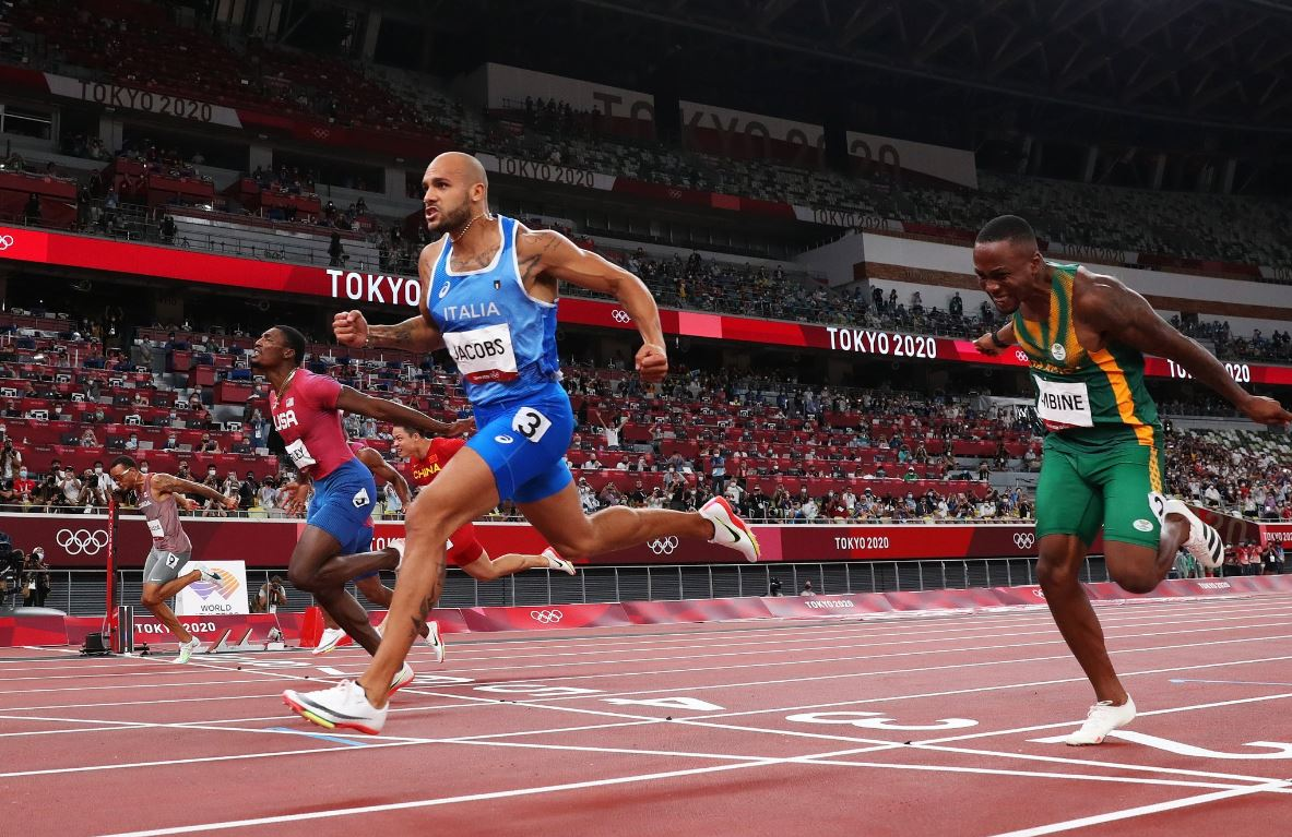 Marcell Jacobs, campion olimpic la 100m